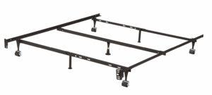 Kings Brand Furniture 7-Leg Adjustable Metal Bed Frame