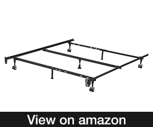 Kings Brand Furniture 7-Leg Adjustable Metal Bed Frame