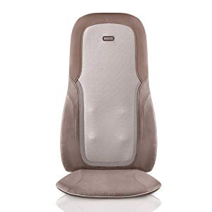 HoMedics, Quad Shiatsu Pro Massage Cushion with Heat, Zone Control