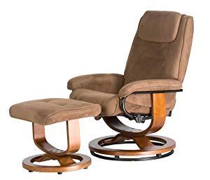 Relaxzen Deluxe Leisure Recliner Chair with 8-Motor Massage & Heat
