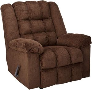 Ashley Furniture Signature Design - Ludden Rocker Recliner - 1 Pull Manual Reclining Sofa