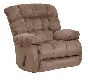 Teddy Bear Chaise Recliner Color: Saddle